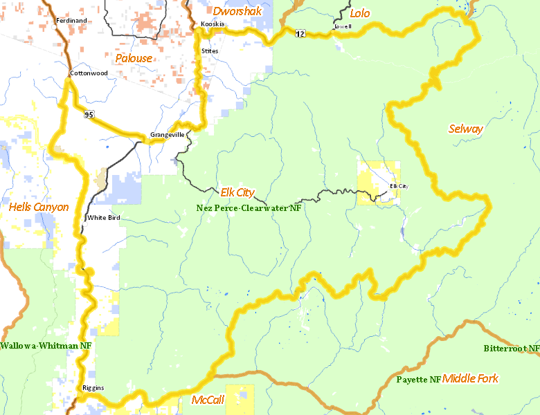 Elk City Zone  Idaho Hunt Planner